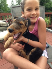 ANNA AND AIREDALE