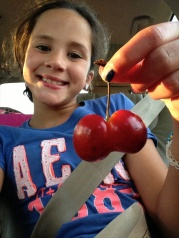 ANNA AND DOUBLE CHERRY