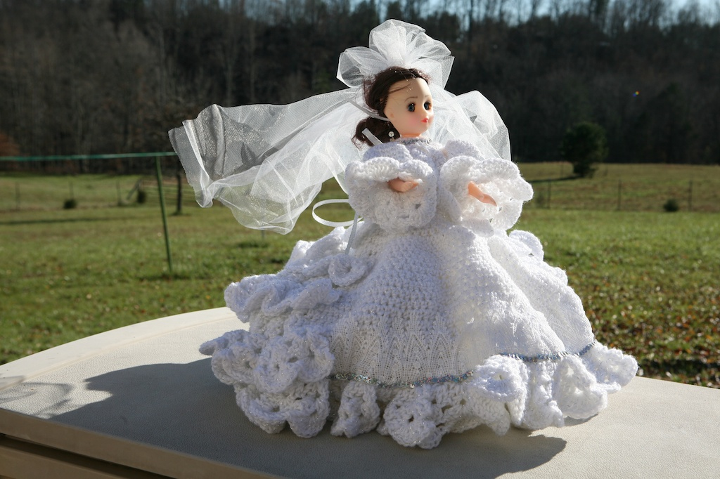 bride doll crochet