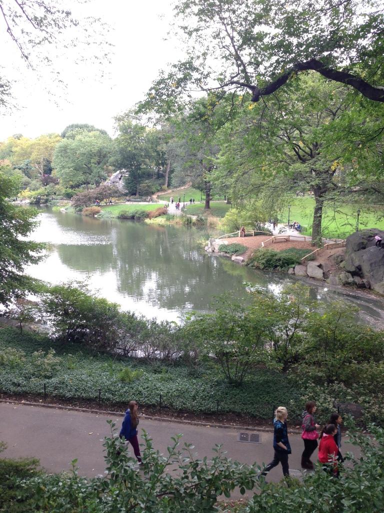 Central Park October