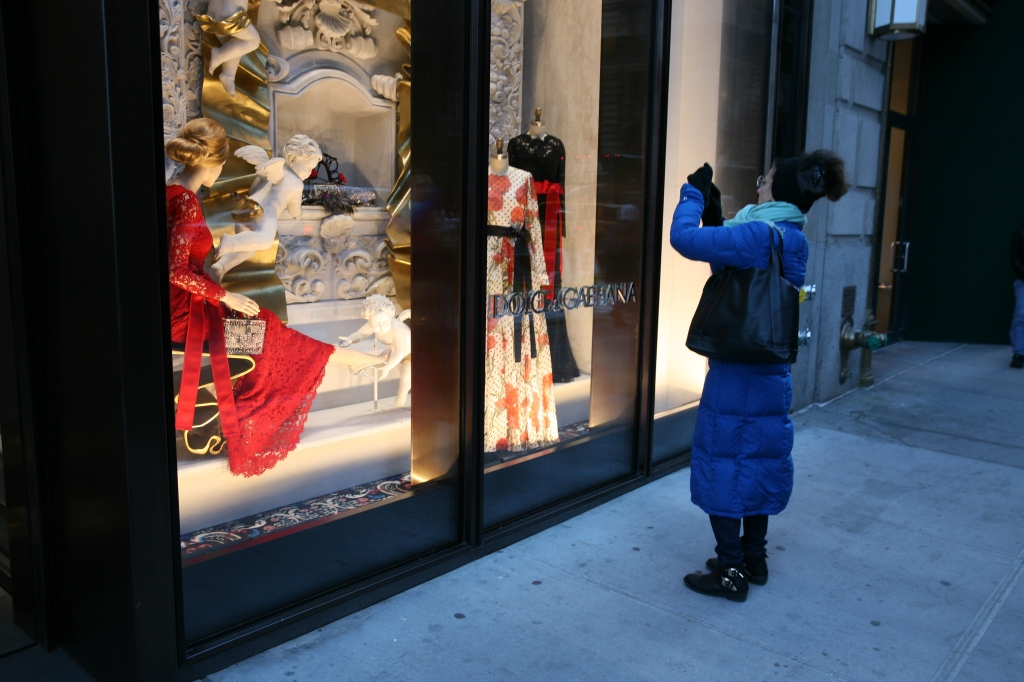 Christmas Window NYC