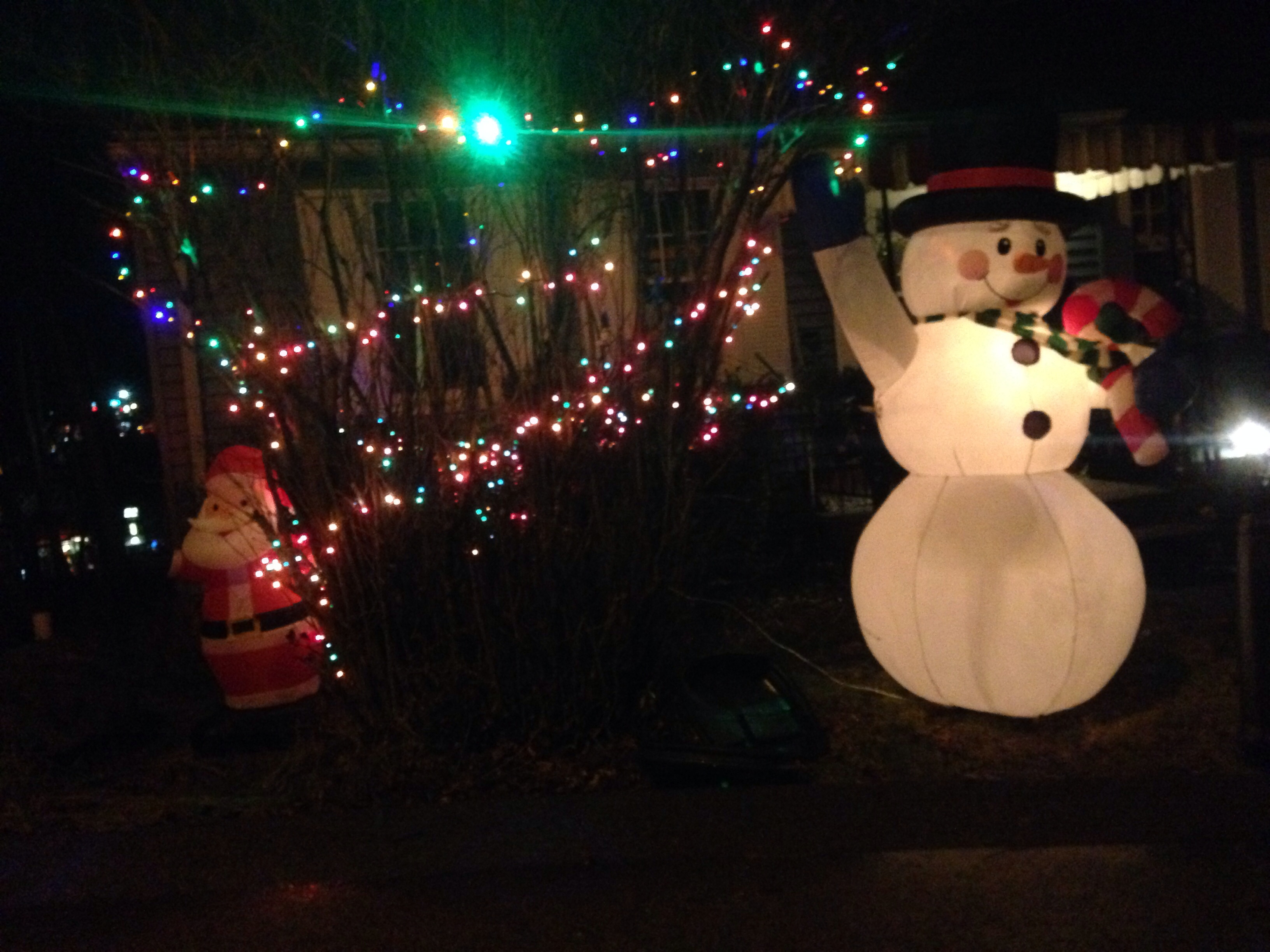 Snowman Outdoor Decorations