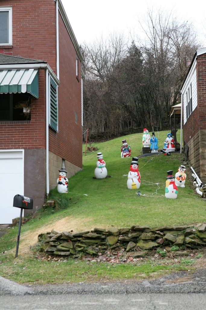 snowless snowmen