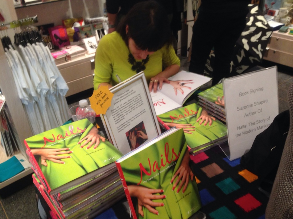 Nails Book Signing Brooklyn