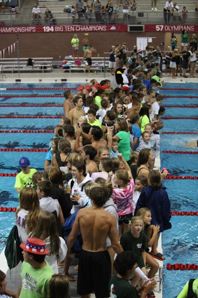 OSU swim