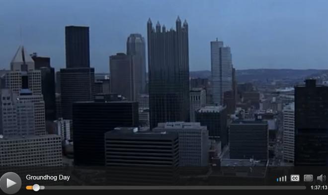 Pittsburgh Skyline 1993