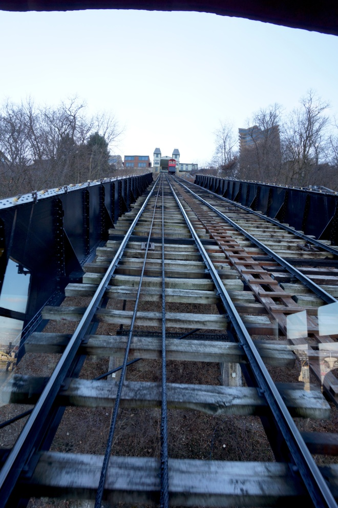 Duquesne Incline Tracks