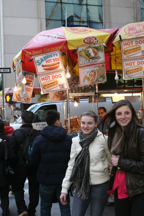 hot dog stand