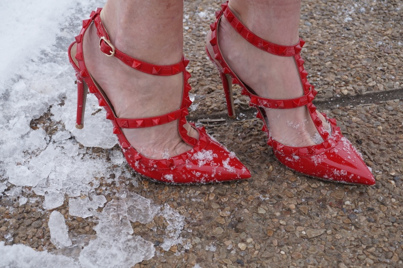Inches Red Shoes