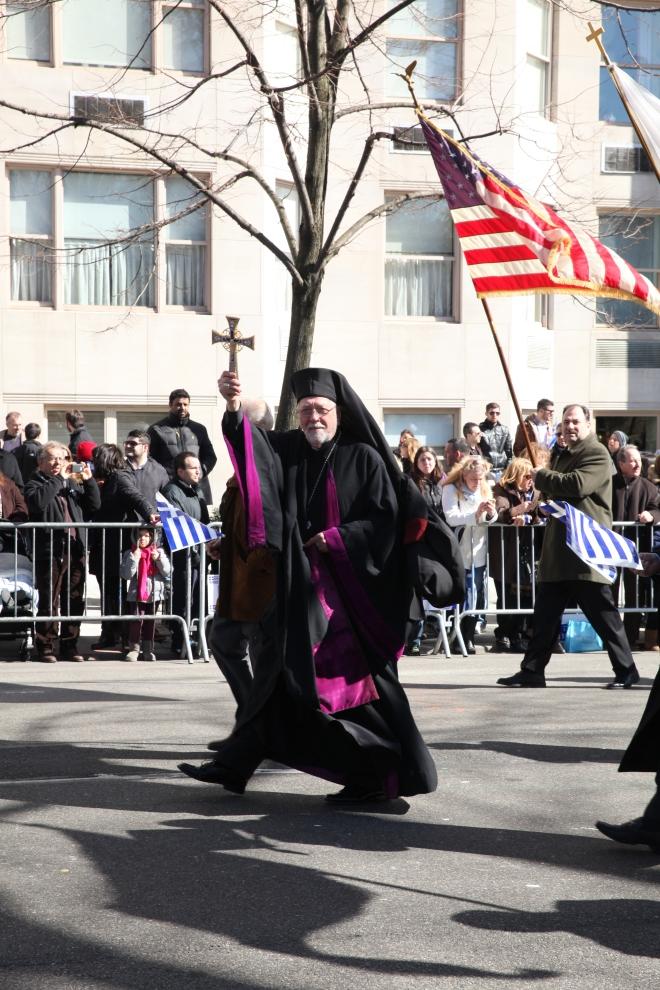 Greek Priest Blessing