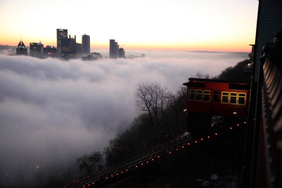 Pittsburgh in Fog