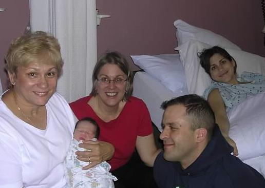 Anna is born. October 2003