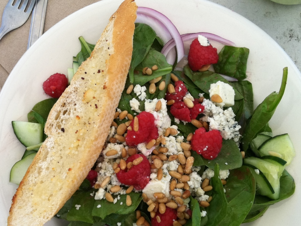 A Spinach Salad