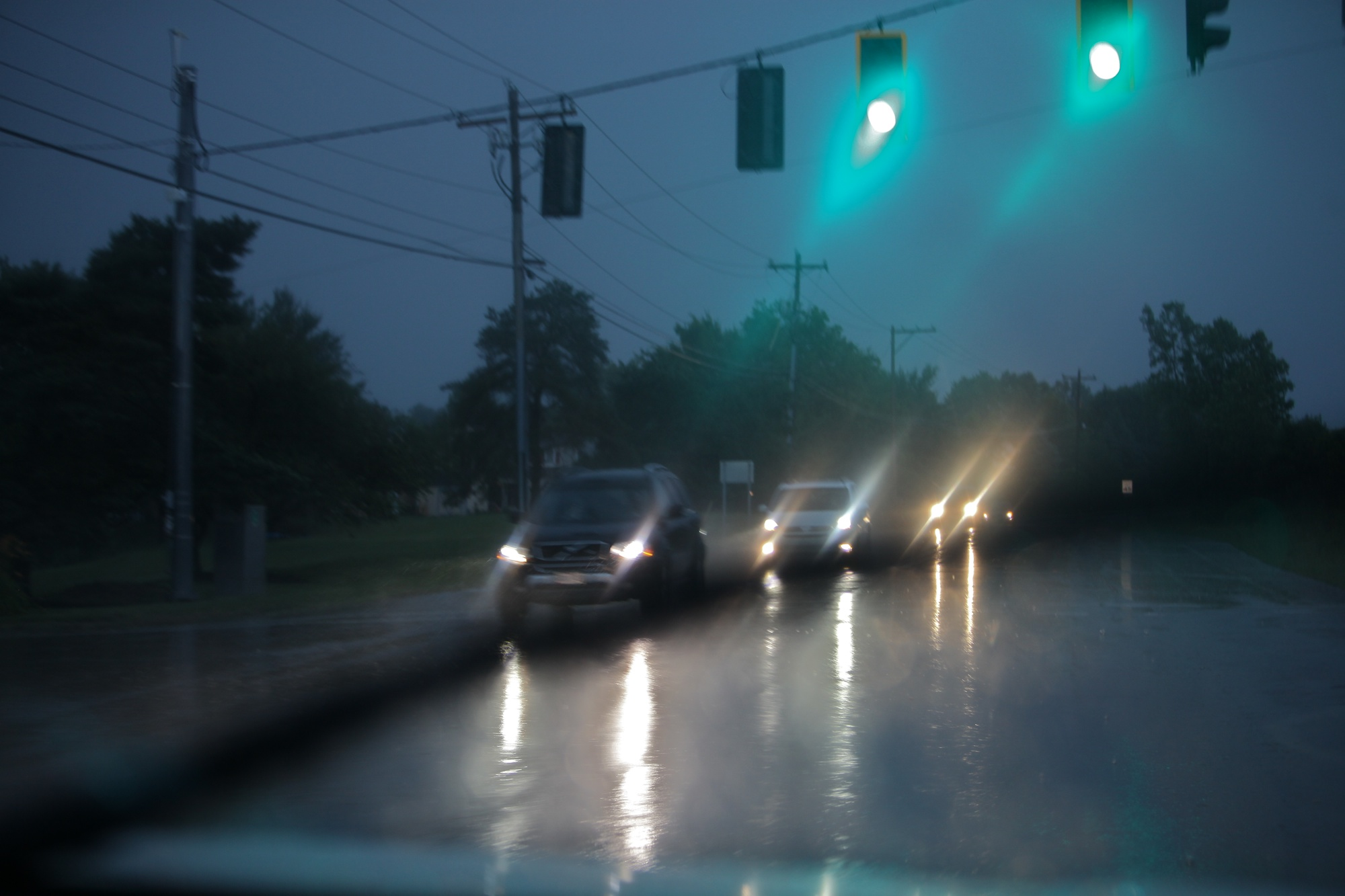 Truck Headlights In Rain : I love when someone else is driving ruth e hendricks