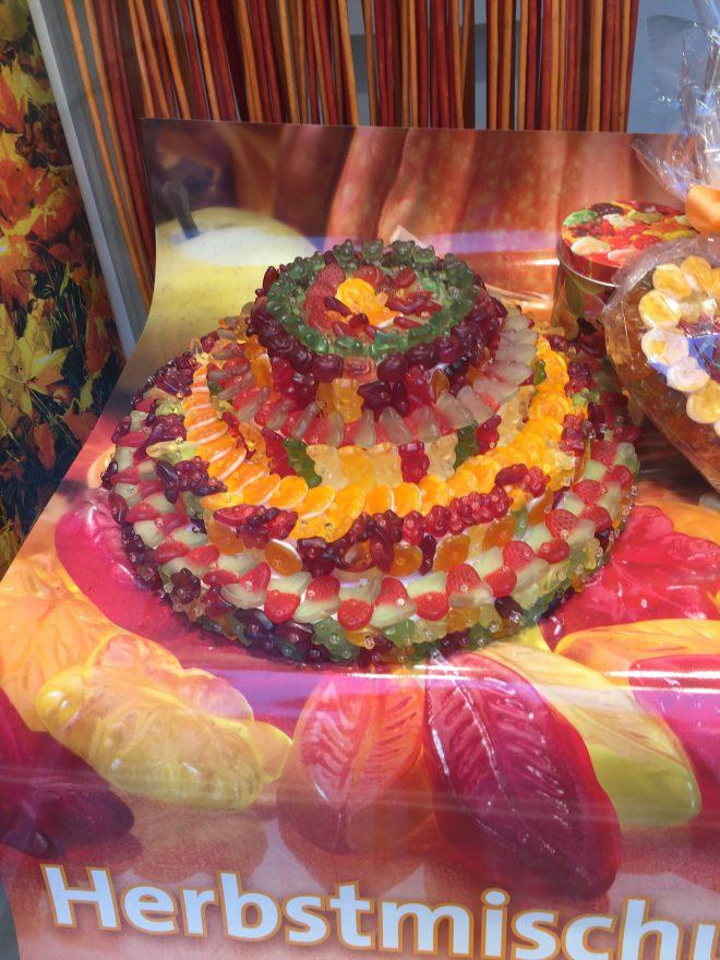 candy window in Salzburg