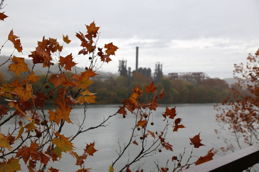 carrie furnace autumn
