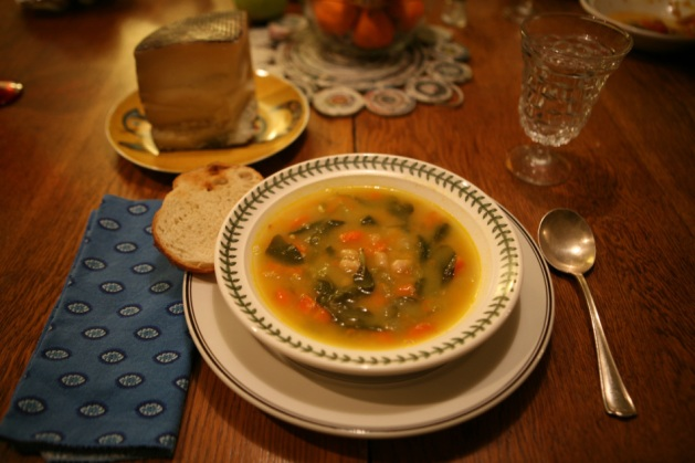 Today's post a compendium of past blog posts featuring soup. Photos ...