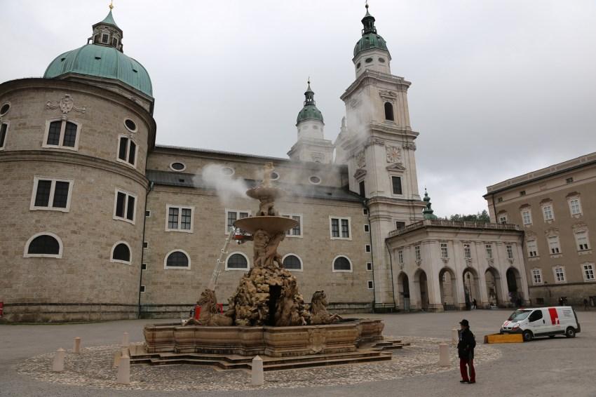 Residentplatz Square Salzburg