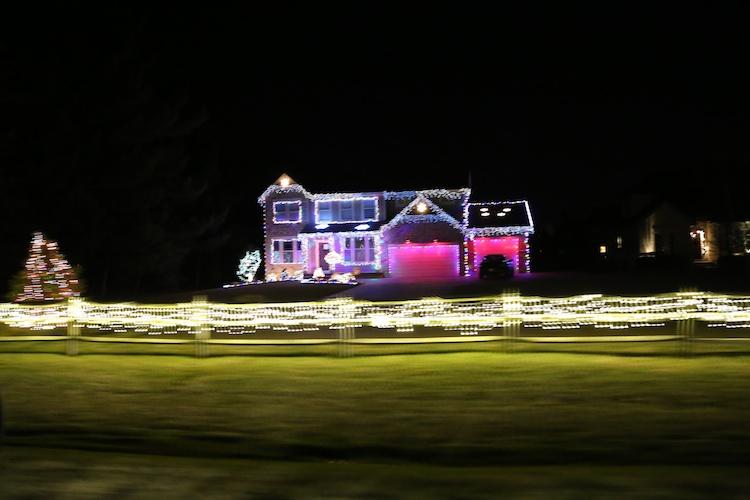 xmas house ohio