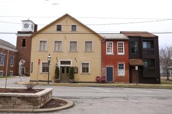 Stohr Haus Bakery on Left