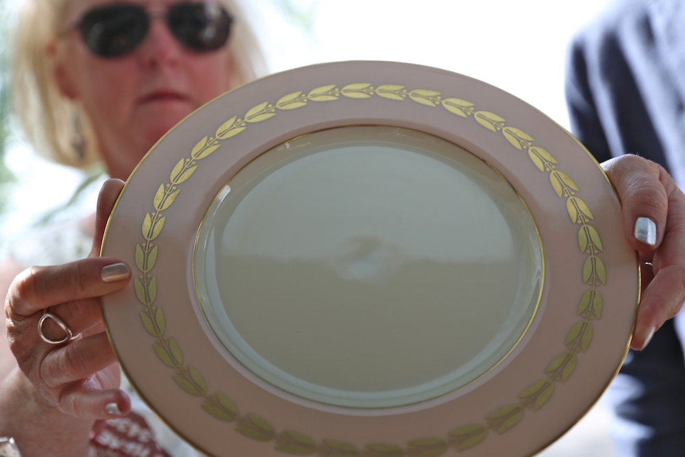 curved fine china platter 2