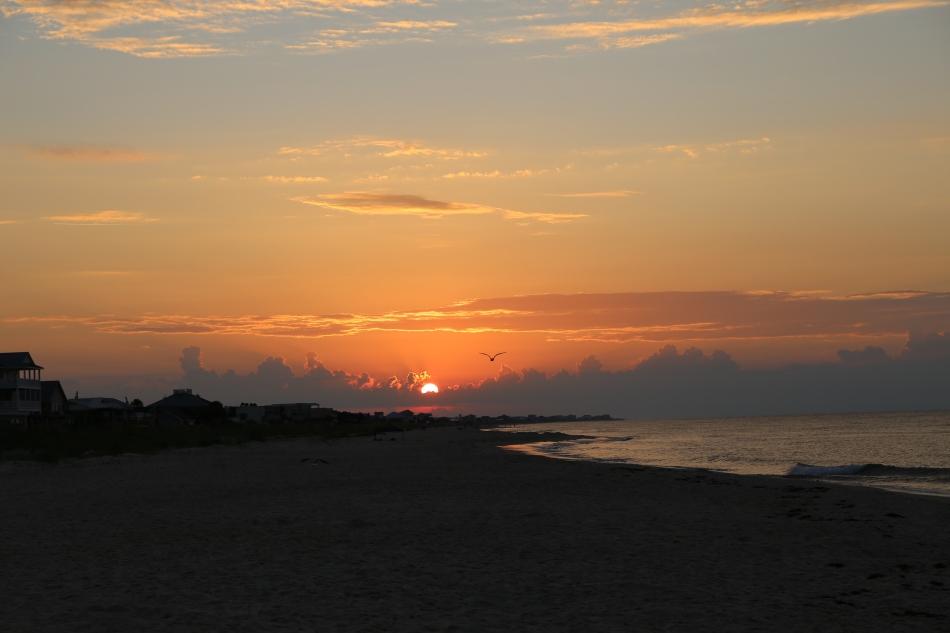 Sunrise at beach