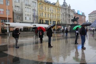 umbrellas zagreb