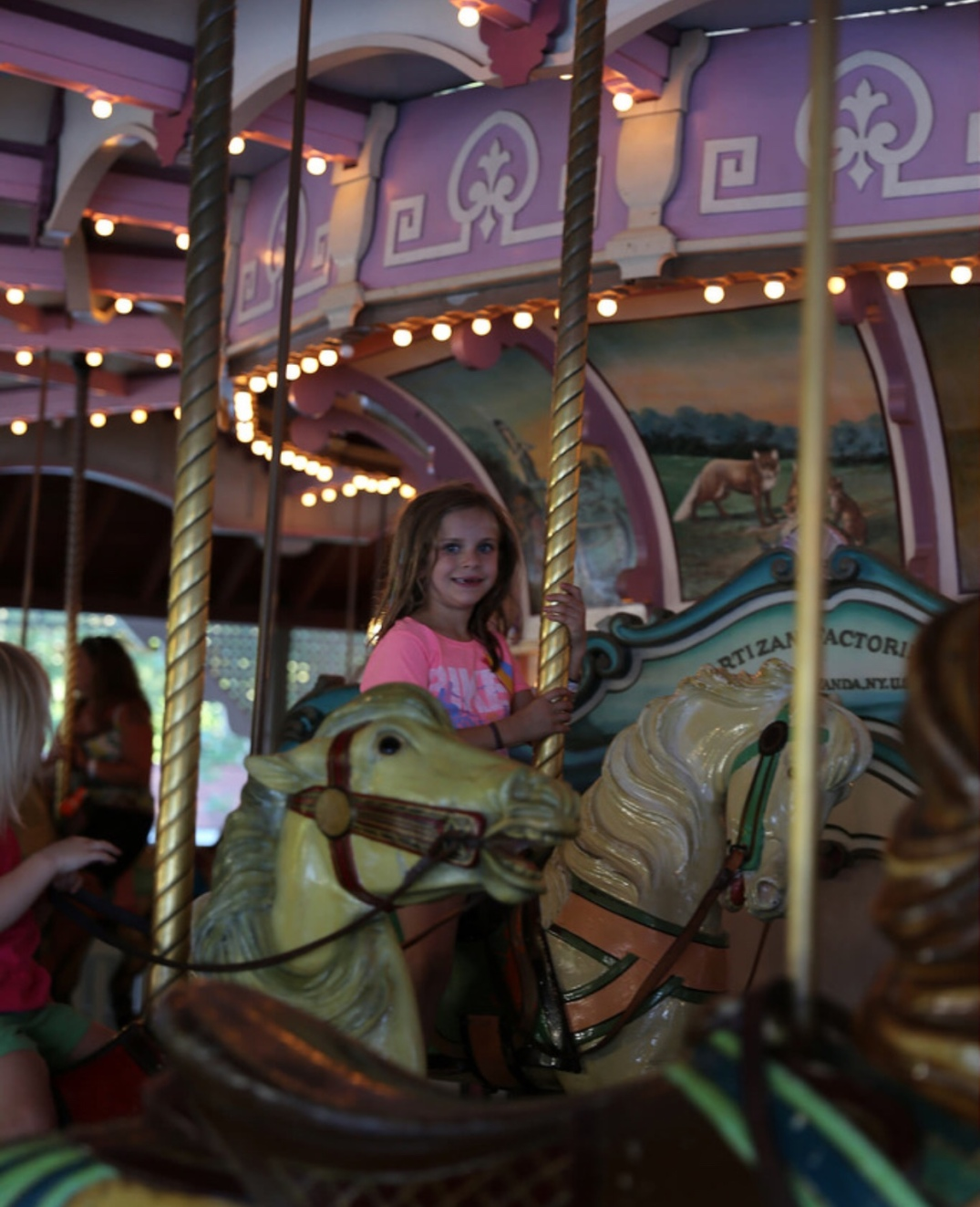 Coney Island RideCarousel Poles And Birthday Candles 8990AF6D 9E5B 4D97 B405 C576D876E39D
